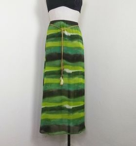 Speechless Tie Die Maxi Skirt